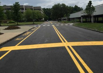 Eisenhower Parkway Finished Pavement